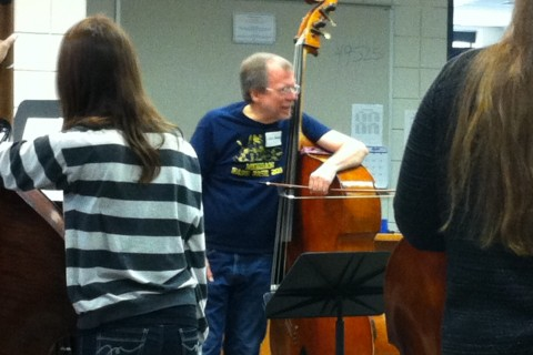 John Kennedy- Past President of the International Society of Bassists, clinician at bass workshops around the country, teacher in the Farmington Public Schools.
