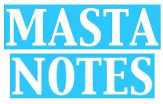 MASTA NOTES graphic
