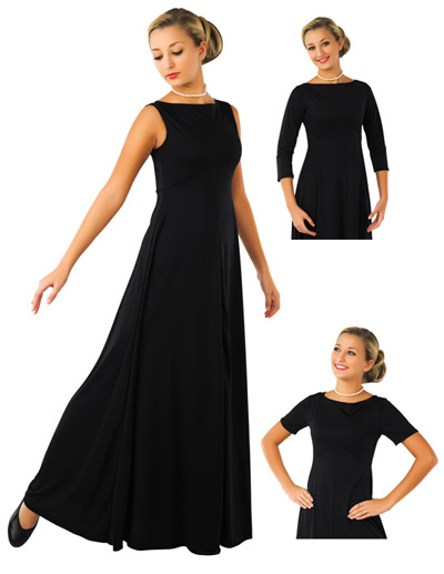 The results of the research black dresses